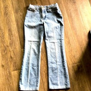 NWOT Simon Chang flare jeans